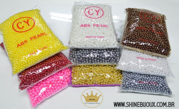 Pérola ABS 6mm Shine Beads®