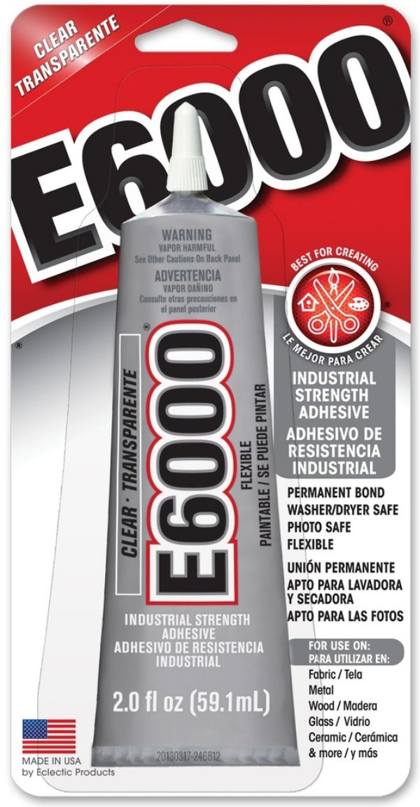 Cola E6000® Glue Clear Craft  59,1ml (2.0 fl oz)