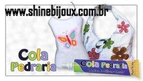 Cola Pedraria Glitter® silicone incolor 20g