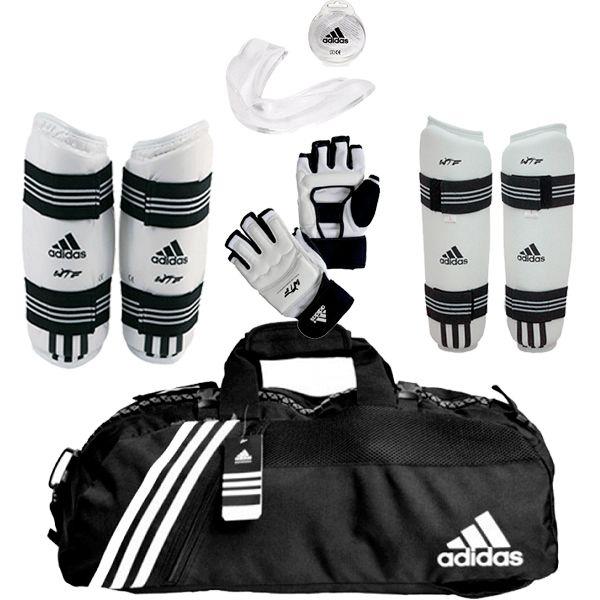 Kit Adidas Taekwondo WTF Kyorugui I