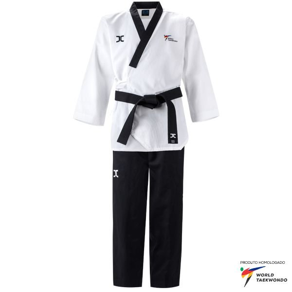 Dobok Kimono Taekwondo JCalicu Diamond Dan Poomsae Masculino WT