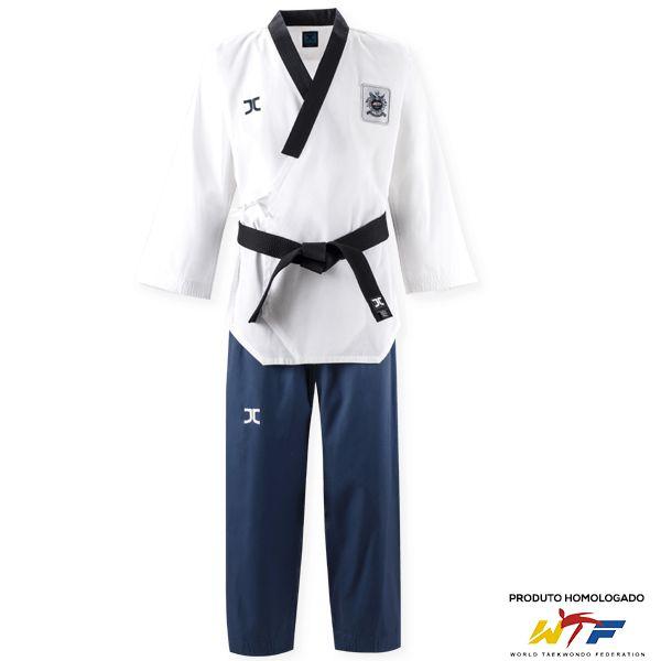 Dobok Kimono Taekwondo JCalicu DIAMOND Dan Feminino Poomsae