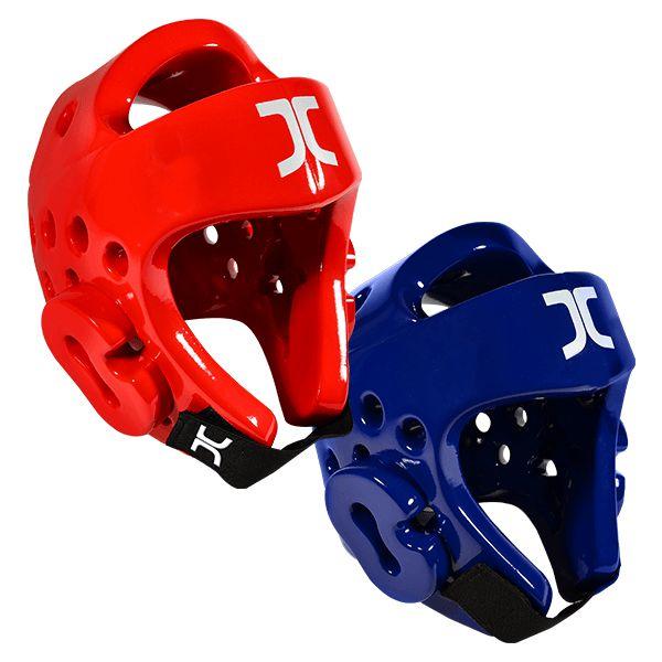 Kit Protetor de Cabeça JCalicu Azul e Vermelho