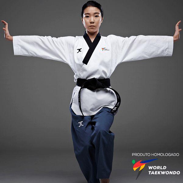 Dobok Kimono Taekwondo JC Club Dan Feminino Poomsae