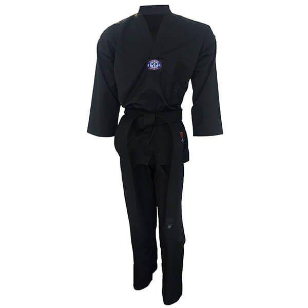 Dobok Kimono Taekwondo Sungja Olimpic Preto