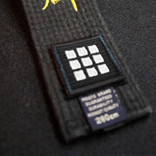 Escudo de Graduação Mooto Dan Patch Prata