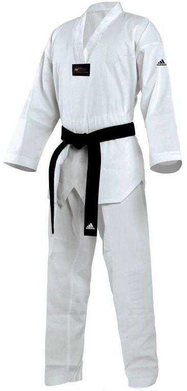 Dobok Kimono Taekwondo Adidas Starter Infantil Gola Branca