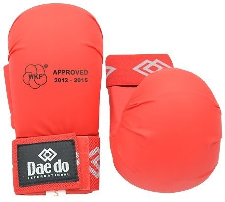 Luva Daedo Karate Vermelha