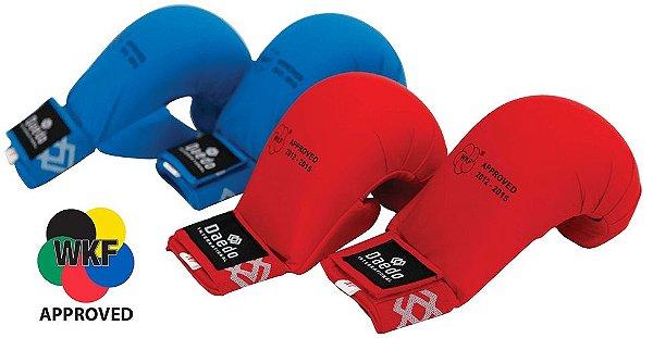 Kit de Luvas Daedo Karate Azul e Vermelha
