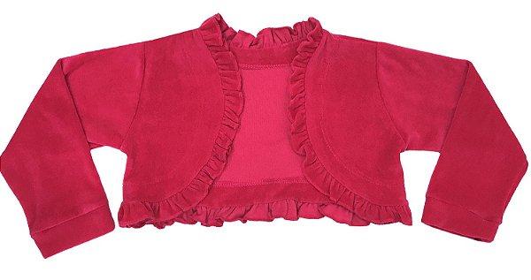 Casaco Juvenil de Plush Pink