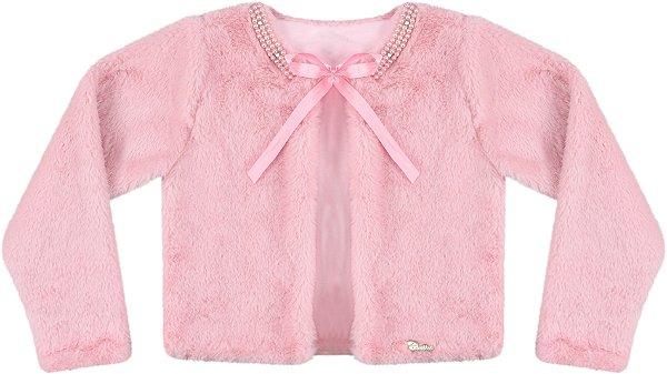 Casaco Infantil Pele Comprido c/ Bordado