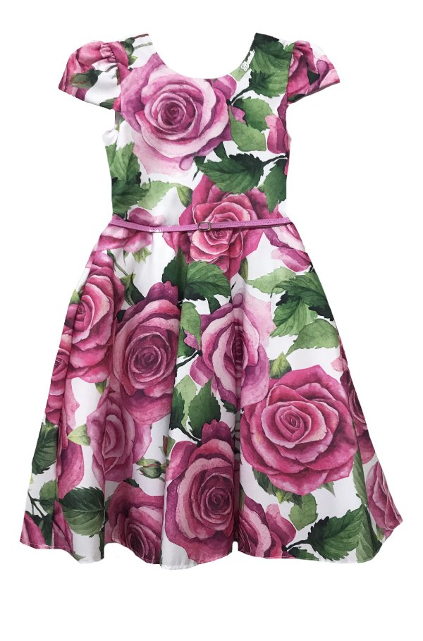 Vestido Estampado Rosas