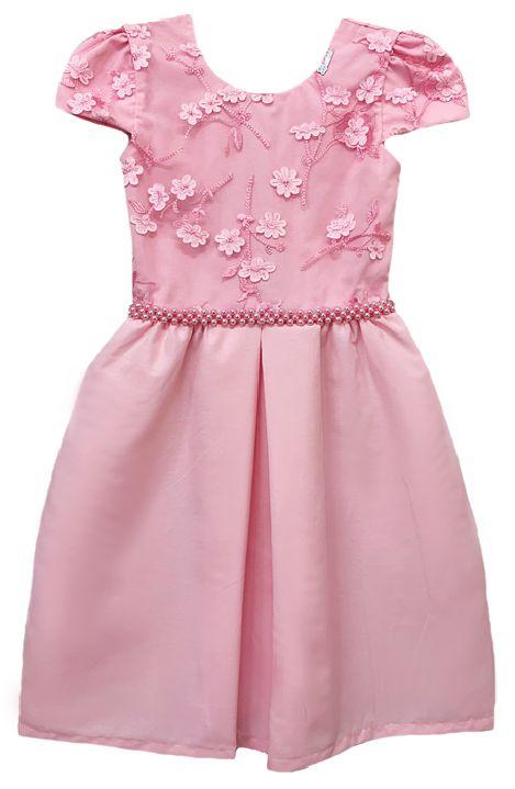 Vestido Infantil Ramo de flores