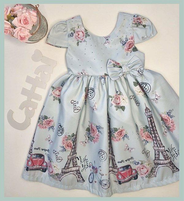Vestido Infantil Paris