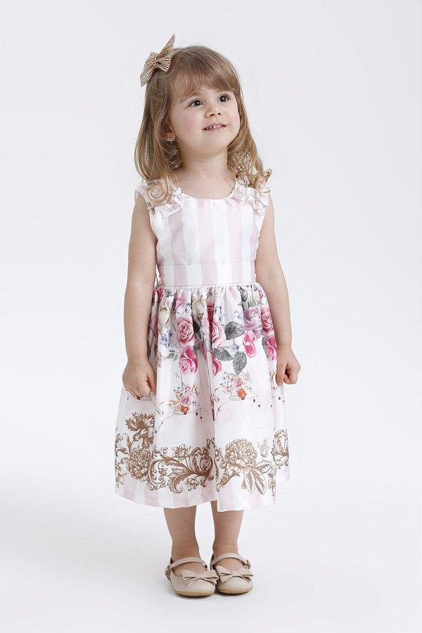 Vestido Infantil Carrossel