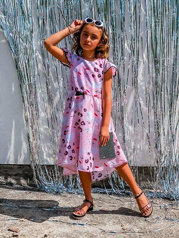 Vestido Juvenil Coelhos
