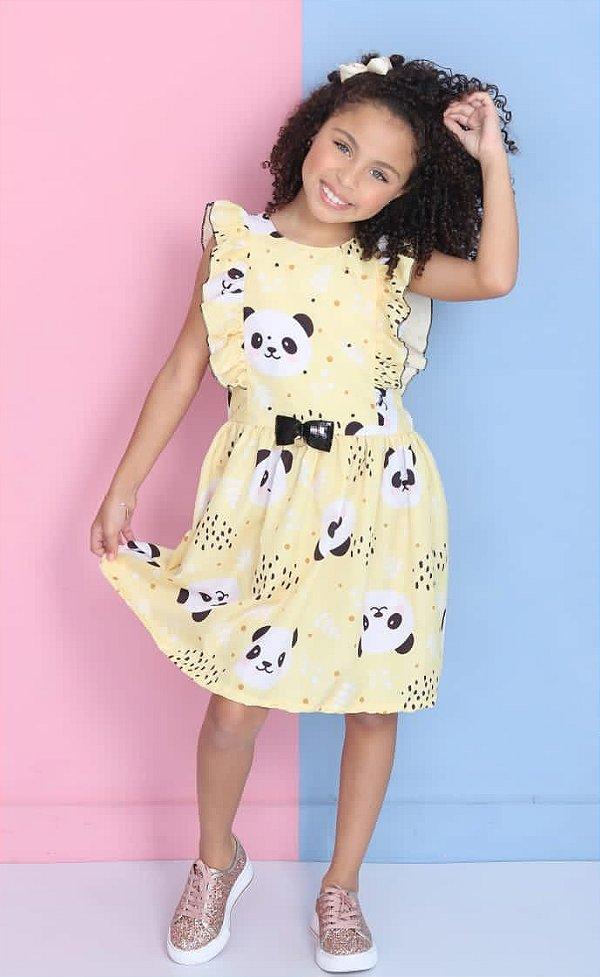 Vestido Juvenil Panda