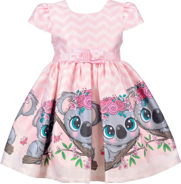 Vestido Infantil Coala
