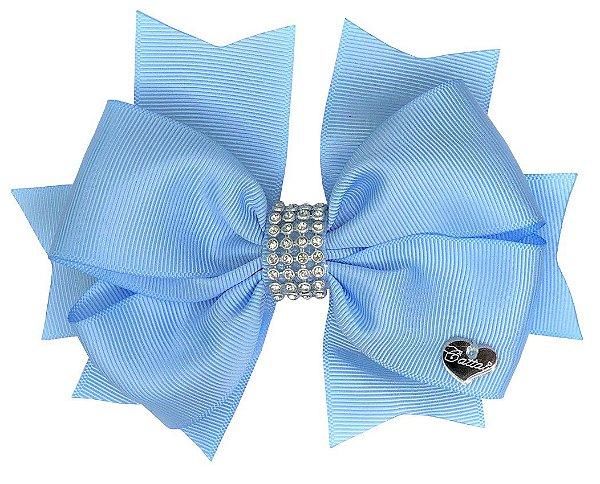 Laço Fita de Cabelo Azul
