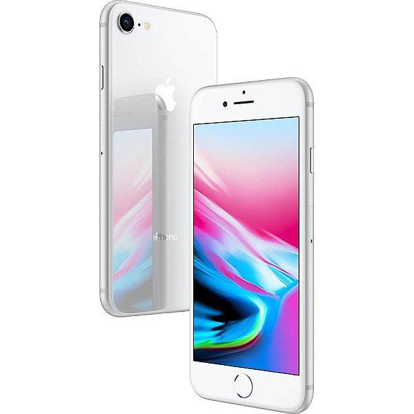 iPhone 8 Prata 64gb Nacional Homologado Garantia 1 ano