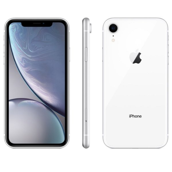 "iPhone XR Branco Apple | Tela Retina 6,1"", 4G, 128GB e Câm. Dupla 12MP - Resistente à Água"
