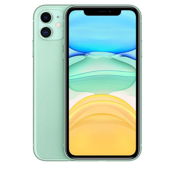 "iPhone 11 Verde 256GB | Tela Retina 6,1""  - Câmera Dupla 12MP + Selfie 12MP"