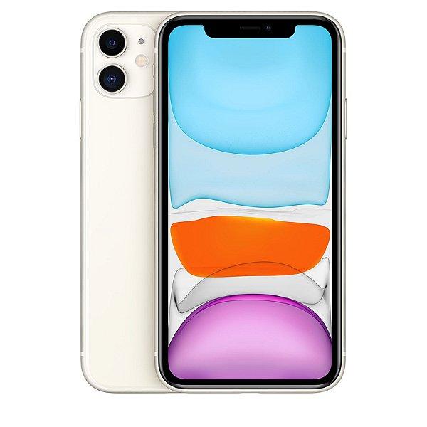 "iPhone 11 Branco 256GB | Tela Retina 6,1""  - Câmera Dupla 12MP + Selfie 12MP"