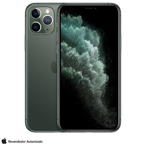 "iPhone 11 Pro Verde Meia-noite 64GB | Tela Super Retina 5,8"" - 4G, Câmera Dupla 12MP + Selfie 12MP"