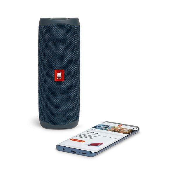 Caixa de Som Portátil JBL Flip 5 - 20W RMS - Azul