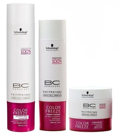 Schwarzkopf Bonacure Color Freeze Kit (3 produtos)