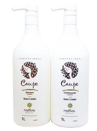 Nativa Caupe Kit Shampoo + Condicionador Hidratante 2x1Litro