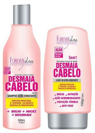 Forever Liss Desmaia Cabelo Kit (2 Produtos)