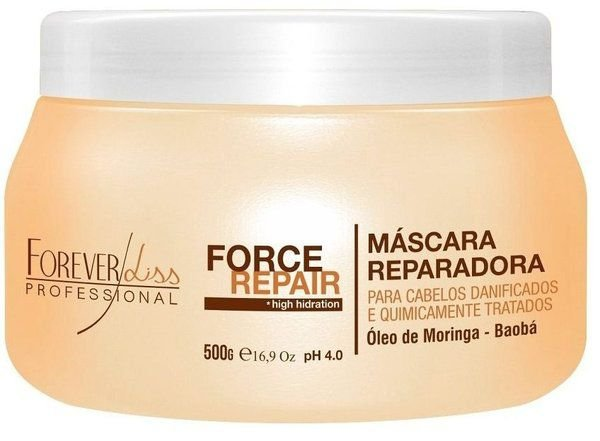 Forever Liss Máscara Force Repair Reparadora - 500g