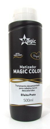 Matizador Magic Color Platinum Blond - Efeito Prata 500ml