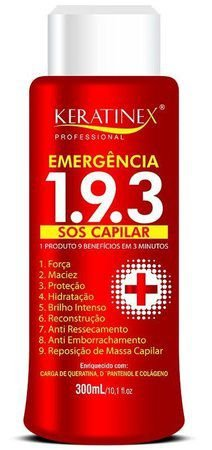 Keratinex Emergência 193 SOS Capilar 300ml
