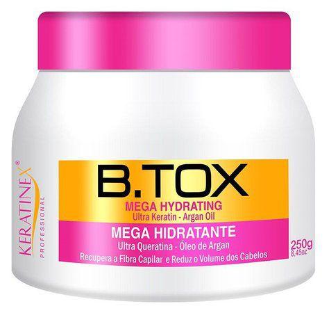 Keratinex B.tox Capilar Mega Hidratante Alinha e Reduz Volume 250g