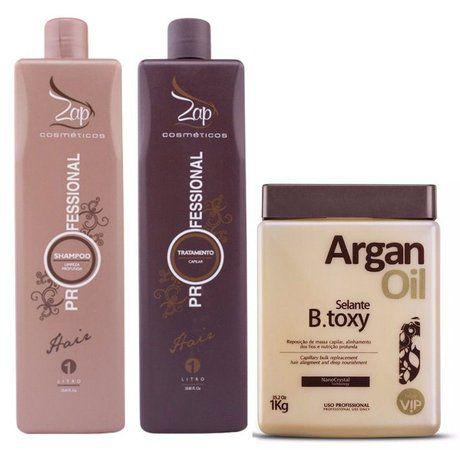 Progressiva Zap Professional + Beuatox VIP Argan Kit
