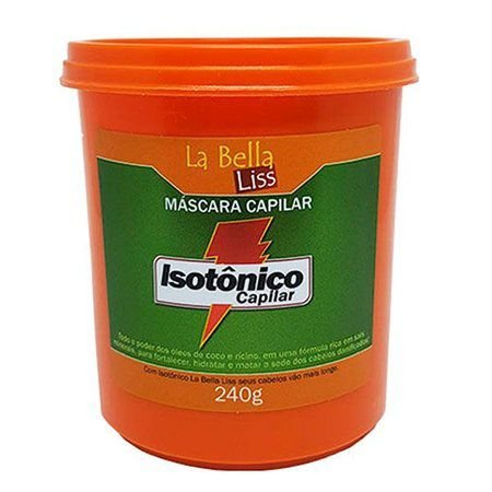 Isotônico Capilar La Bella Liss Máscara de Nutrição 240g