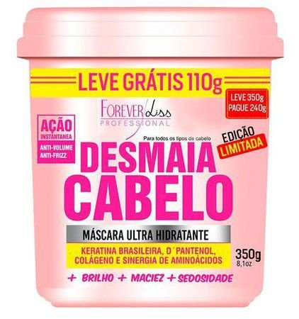 Forever Liss Desmaia Cabelo 350g Anti Volume Frizz