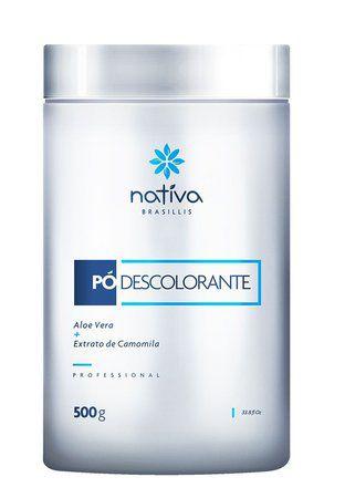Nativa Pó Descolorante Profissional Até 8 tons - 500g