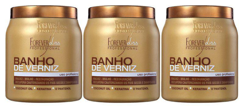 Forever Liss Banho de Verniz 1kg (revenda 3pc)