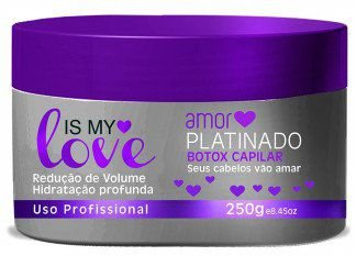 Bbtox Matizador Orgânico Sem Formol Is My Love Amor Platinado -250g