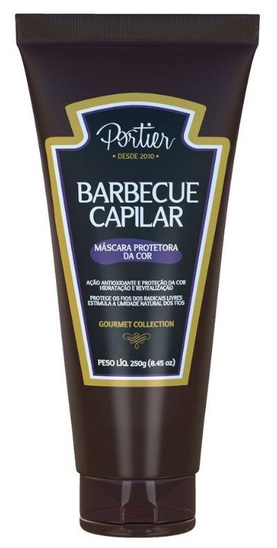 Barbecue  Portier Gourmet Mascara Capilar Protetora da Cor 250g