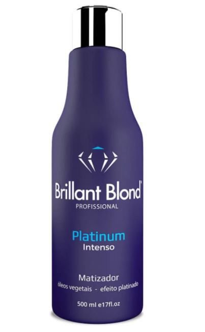 Brillant Blond Matizador Platinum  Intenso - 500ml
