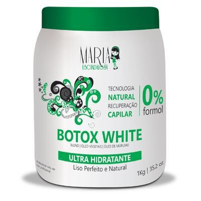 Bbtox White  Sem Formol 1kg  - Maria Escandalosa