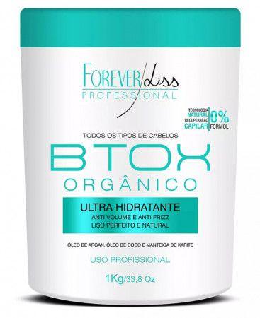 B.tox Organico Redutor Ultra Hidratante S/ Formol 1Kg - Forever Liss