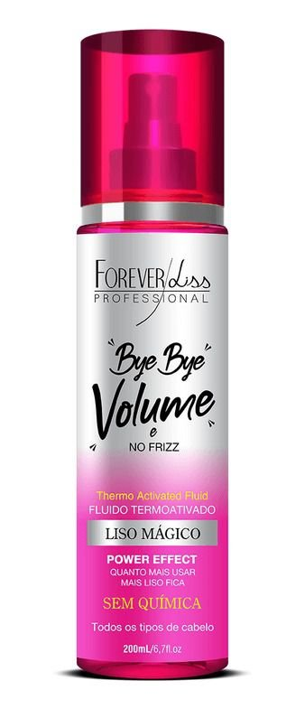 Bye Bye Volume e No Frizz Liso Mágico 200ml - Forever Liss