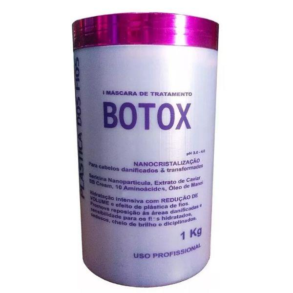 Botox Control Matizador Plástica Dos Fios 1 Kg