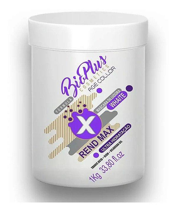 Bio Plus Máscara Hidratação Intensiva Rend Max 1kg
