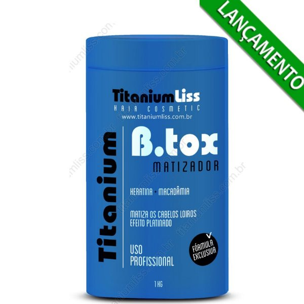 B.tox capilar Matizador TitaniumLiss 1kg